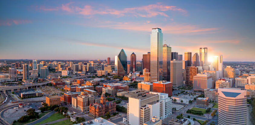 charter a private jet to dallas, tx
